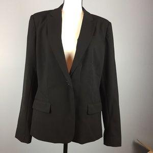 VINCE CAMUTO | 14 single button blazer jacket